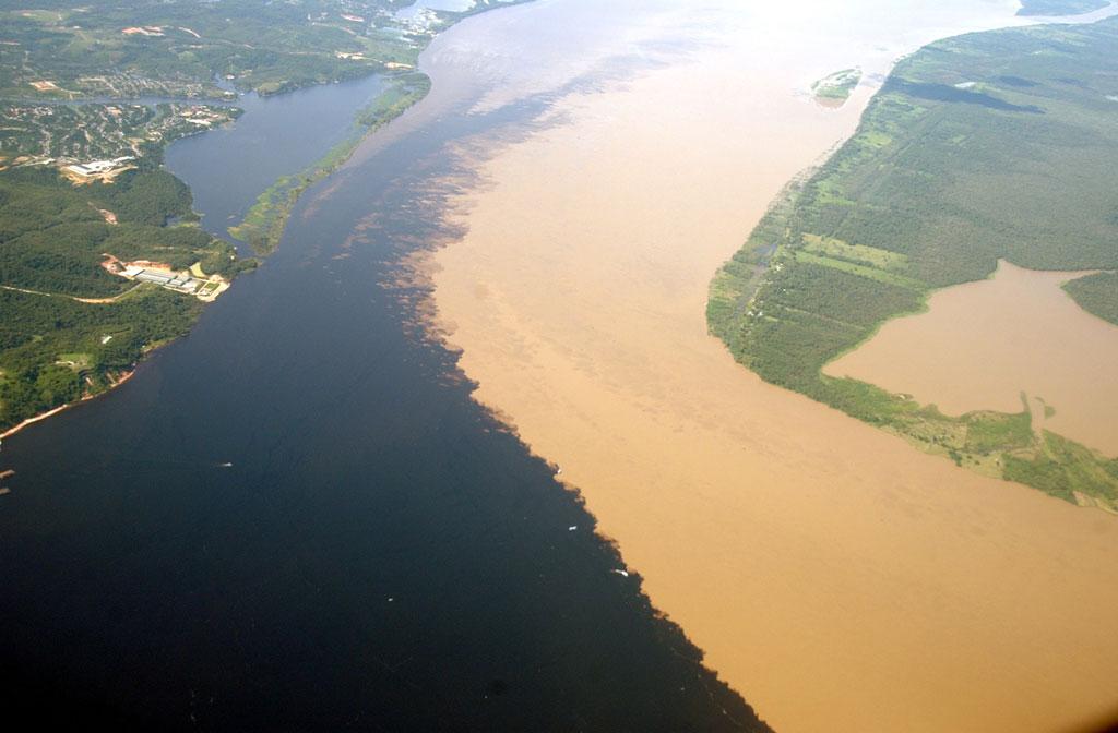 el encuentro de aguas brasiil