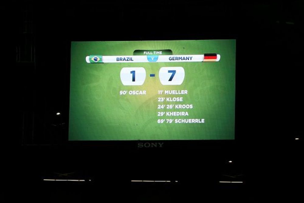 Copa Mundial de Fútbol Brasil 2014 semifinal alemania vs brasil